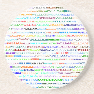 William Text Design II Coaster