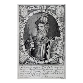 William the Conqueror, 1618 Poster
