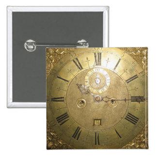 William Tomlinson Tall Case Clock II 15 Cm Square Badge