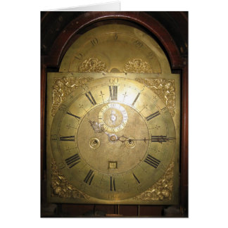 William Tomlinson Tall Case Clock II Note Card