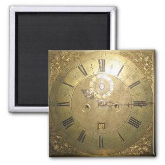 William Tomlinson Tall Case Clock II Square Magnet