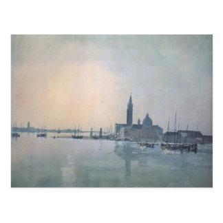William Turner-San Giorgio Maggiore in the Morning Postcard