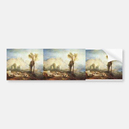 William Turner- The Bright Stone of Honour & Tomb Bumper Sticker