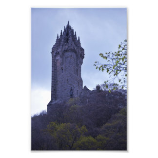 William Wallace Monument in Scotland Photo Art