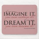 William Ward Imagine Quote Mousepad