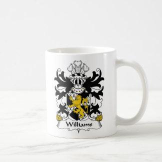 Williams Family Crest Basic White Mug