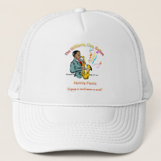 Williams Family Picnic - Classic White Trucker Hat
