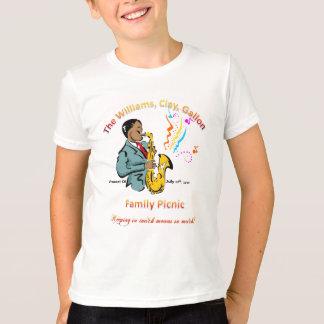 Williams Family Picnic - Kids Ringer T-Shirt