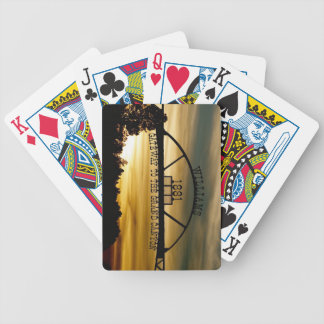 Williams Gateway Bicycle Playing Cards