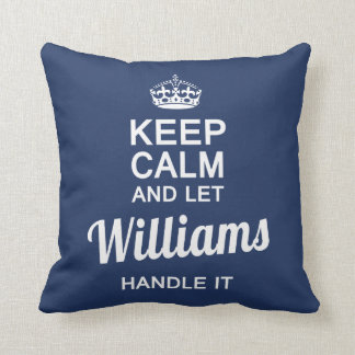 Williams handle it cushion