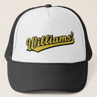 Williams' in Gold Trucker Hat