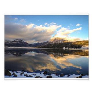Williams Lake, Early Winter Photo Art