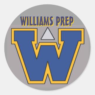 Williams Prep Sticker