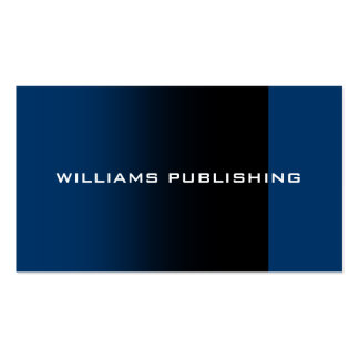 Williams Publishing Business Card