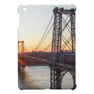 Williamsburg Bridge Sunset Brooklyn NYC iPad Mini Cover
