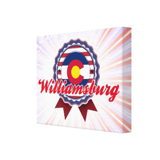 Williamsburg, CO Stretched Canvas Prints