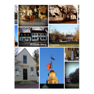 Williamsburg Collage Postcard