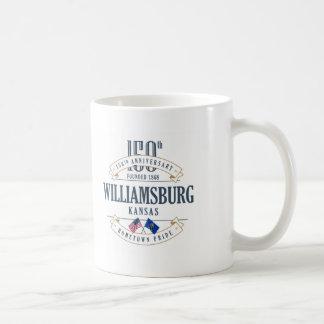 Williamsburg, Kansas 150th Anniversary Mug