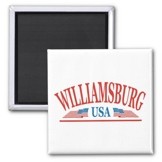 Williamsburg Virginia USA Magnet