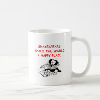 willian shakespeare coffee mug