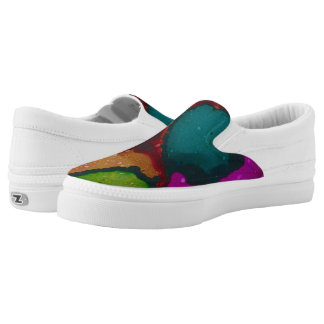 "Willie Scaife ""Abstract 1"" Slip-On Shoes"