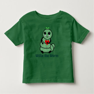 Willie the Worm T Shirts