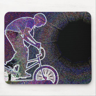 WillieBMX The Glowing Edge Mouse Pad