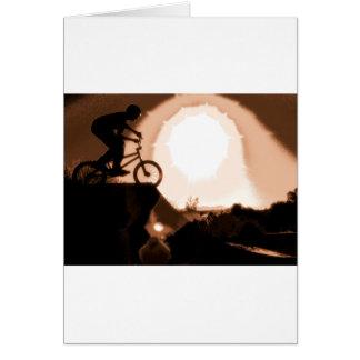 WillieBMX Warm Earth Tone Card