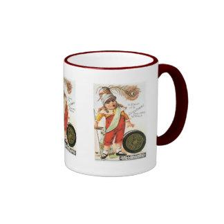 Willimantic Silver Thimble Ringer Mug