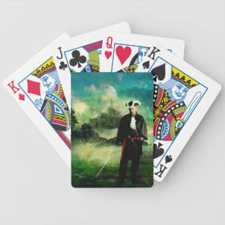 WILLING AND ABLE TO DEFEND HIS OWN BICYCLE PLAYING CARDS