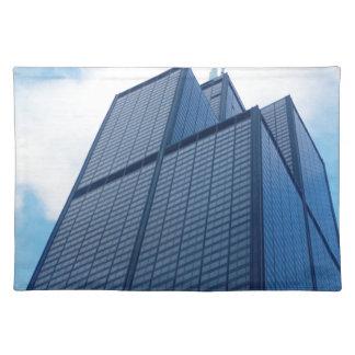 willis tower placemat