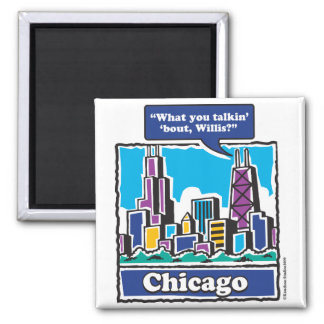 Willis Tower/Sears Tower Magnet