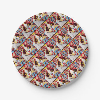 Willow Art23 Paper Plate