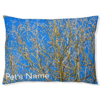 Willow buds - Morning Of Spring Pet Bed