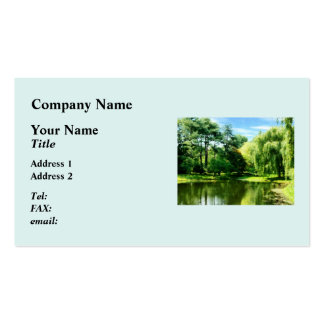 Willow By the Lake Pack Of Standard Business Cards