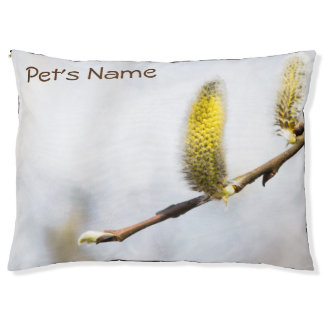Willow Catkins - Silver World Pet Bed