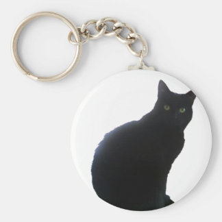 Willow copy basic round button key ring