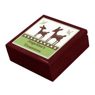 Willow Deer Baby Keepsake Box