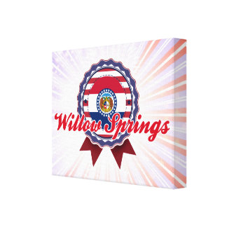 Willow Springs, MO Canvas Prints