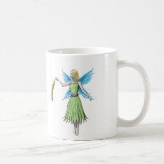 Willow Tree Fairy holding a Catkin Coffee Mug