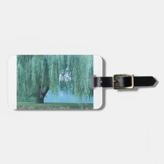 Willow Tree Luggage Tag
