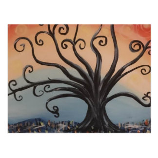 WILLOW TREE POSTCARD