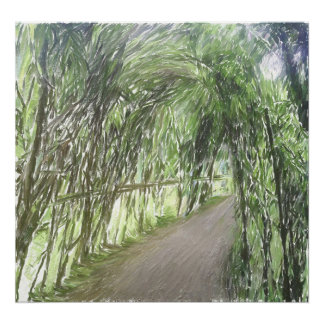 Willow Tunnel Poster