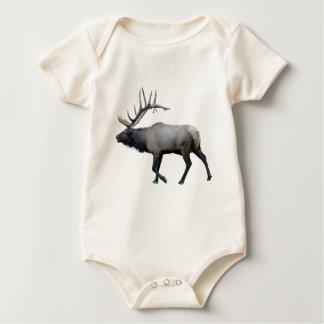 Willow Wapiti elk Baby Bodysuit