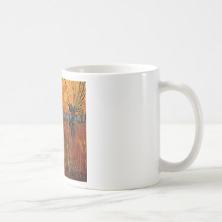 Willows at Sunset by Vincent van Gogh Mugs