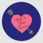 Wills and Kate Forever! Products Round Sticker