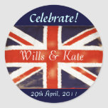 Wills and Kate Royal Wedding Stickers