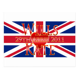 Wills & Kate Postcard
