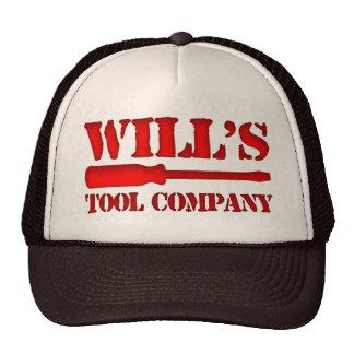 Will's Tool Company Hats