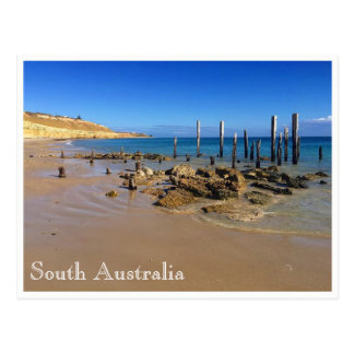 willunga beach postcard